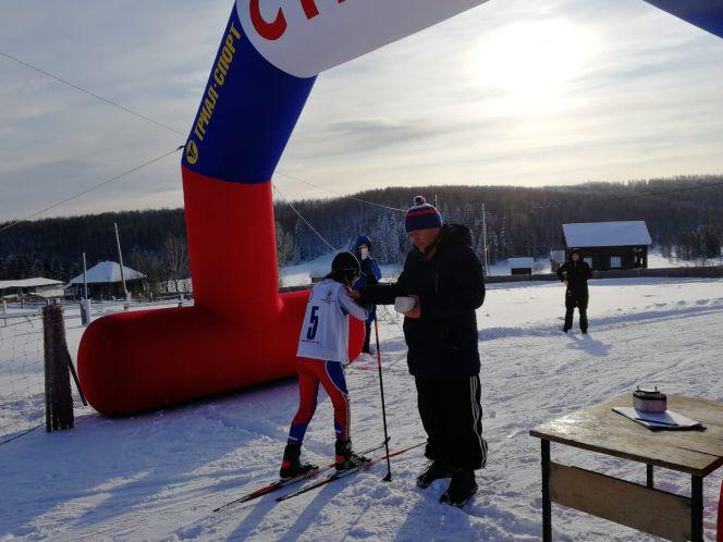 Первые соревнования в лыжном сезоне прошли на лыжной базе «Заречье» на станции Тягун