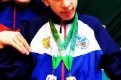 Егор Лосев из Первомайского района стал победителем и призером межрегиональных соревнований по бочча среди лиц с ПОДА