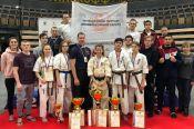 Алтайские спортсмены завоевали пять медалей на чемпионате и юниорском первенстве России по киокусинкай