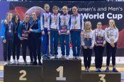 Анна Смирнова - победительница юниорского этапа Кубка мира по фехтованию на сабле