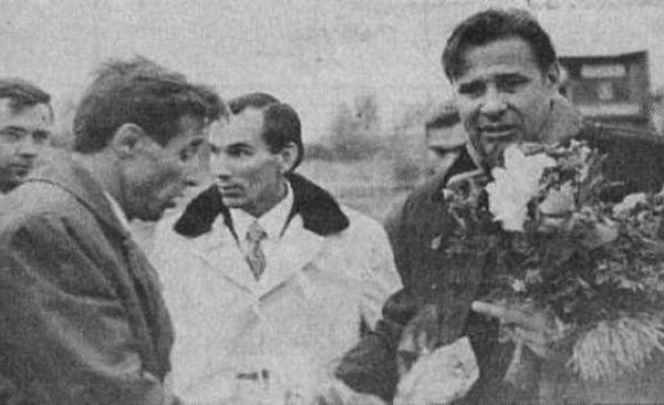 На фото: 1973 год. Лев Яшин в Барнауле