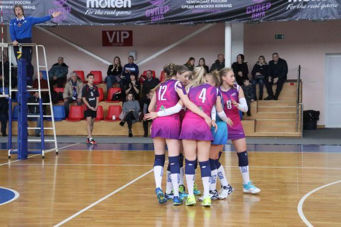 Волейболистки «Алтая-АГАУ» завершили домашний тур победой над куйбышевским «Олимпом» – 3:1