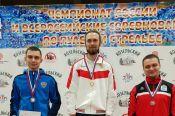Сергей Каменский - победитель Всероссийских соревнований по стрельбе из малокалиберной винтовки