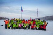 Алтайский край первым из регионов России провёл чемпионат по ловле на мормышку со льда среди женщин