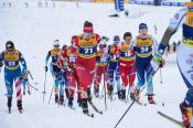 Яна Кирпиченко заняла 26-е место в скиатлоне на этапе Кубка мира в Оберсдорфе