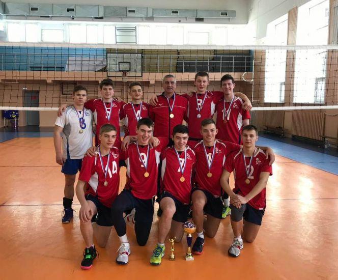 Сборная Алтайского края вышла в финал юношеского первенства Всероссийской федерации волейбола
