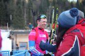 Олег Домичек побежит второй этап эстафеты в составе сборной России на юниорском первенстве мира
