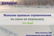 9 февраля. с. Шахи Павловского района. Краевые соревнования среди женщин по ловле на мормышку со льда