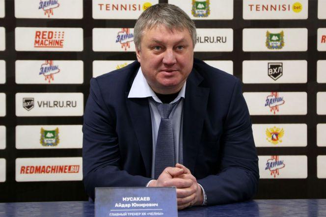 """Айдар Мусакаев. Фото: ХК """"Челны"""""""