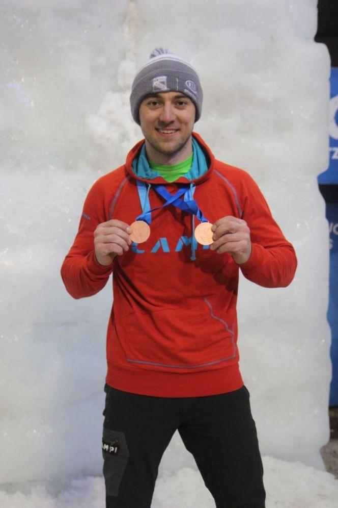 Во вторник, 18 февраля, в краевом минспорта состоится пресс-конференция ледлолаза Дмитрия Гребенникова - бронзового призёра чемпионата Европы