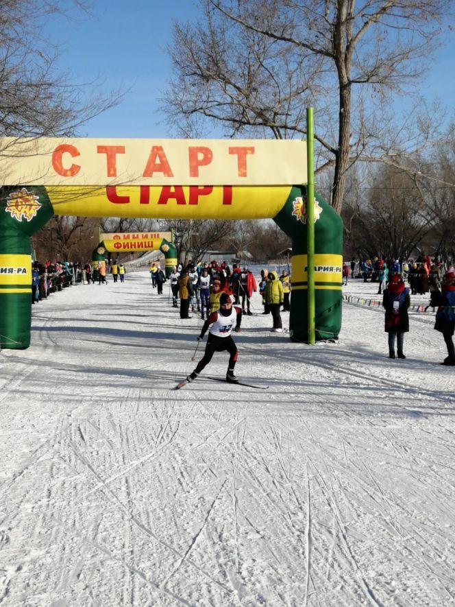 Олимпиада городов - 2020. Лыжные гонки, мужчины, свободный стиль. Фото: Иван Блаженко / Алтайский спорт