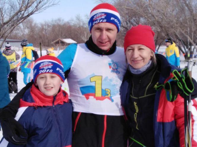 Чемпионом среди спортивных семей с мальчиками стала семья Полюх из Алейска