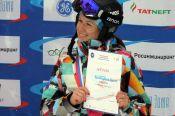 Ольга Чеботарева - третий призёр Кубка России.