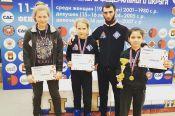 Спортсменки  Алтайского края с успехом выступили на чемпионате  и первенстве Сибирского федерального округа