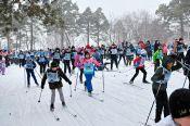 Традиционная гонка «Лыжня России» состоялась 22 февраля в Бийске