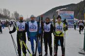 "ВИДЕО. ""АлтайSKIй марафон"" преодолели 493 спортсмена"