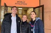Сергей Шубенков, Мария Ласицкене и Анжелика Сидорова встретились с представителями Международной федерации лёгкой атлетики