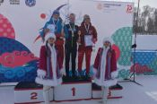 Никита Денисов - серебряный призёр первой лыжной гонки Спартакиады учащихся России