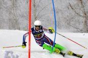 Олег Жудин занял третье место в слаломе на соревнованиях под эгидой FIS в Красноярске