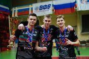 Воспитанник алтайского волейбола Роман Поталюк второй год подряд выиграл молодежный чемпионат России