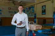Бийский гимнаст Сергей Усков стал мастером спорта России