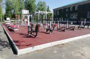 В Романовском районе установили малую спортивную площадку в рамках федерального проекта «Спорт - норма жизни»