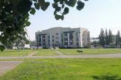 В Барнауле реконструируют школьный стадион на средства гранта конкурса «Молодежный бюджет»