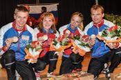 Галина Виноградова - бронзовый призер чемпионата мира в смешанной эстафете.