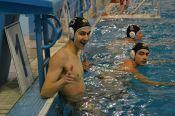 В бассейне «Магис-Спорт» завершилась серия матчей между основной и молодежной сборными края.